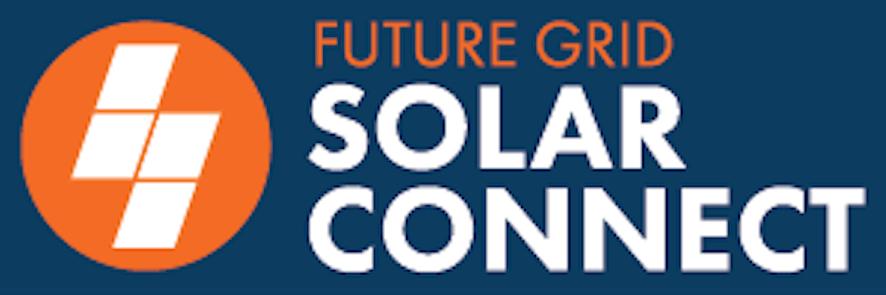FG Solar Connect Logo Inv darkbgmed